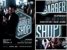 Barber Shop Flyer Template Free