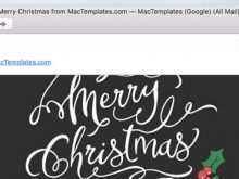 32 Creating Christmas Card Template For Apple Pages PSD File with Christmas Card Template For Apple Pages
