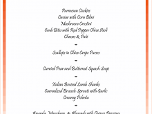 32 Creating Dinner Party Agenda Template Formating with Dinner Party Agenda Template