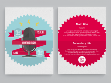 32 Creative Template For Flyer Free Download Photo for Template For Flyer Free Download