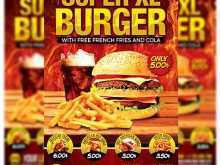 32 Customize Burger Flyer Template for Ms Word by Burger Flyer Template