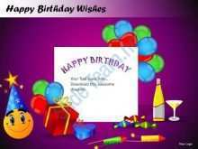 32 Customize Happy Birthday Card Template Ppt Download with Happy Birthday Card Template Ppt