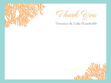 Thank You Card Template Photo