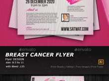 32 Format Breast Cancer Flyer Template PSD File with Breast Cancer Flyer Template