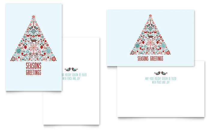 32 Format Christmas Greeting Card Template Microsoft Word in Photoshop by Christmas Greeting Card Template Microsoft Word