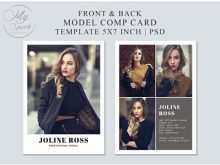 32 Free Comp Card Template For Microsoft Word With Stunning Design by Comp Card Template For Microsoft Word