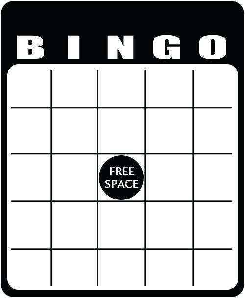 32 Free Printable Bingo Card Template Word Document in Photoshop with Bingo Card Template Word Document