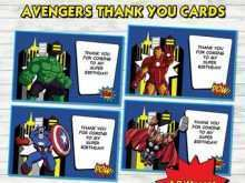32 Free Printable Birthday Card Template Avengers with Birthday Card Template Avengers