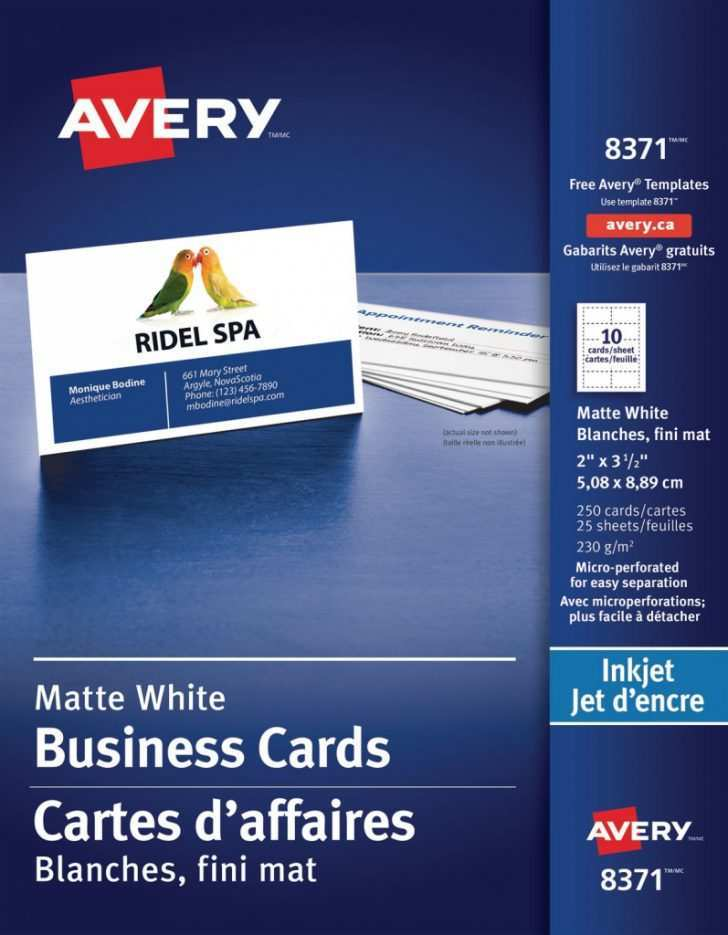 32 How To Create Avery 8371 Business Card Template Illustrator in Word for Avery 8371 Business Card Template Illustrator