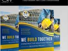 32 Online Construction Flyer Template Maker with Construction Flyer Template