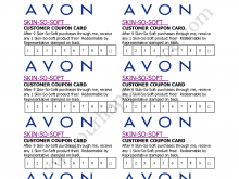 32 Printable Avon Flyers Templates by Avon Flyers Templates