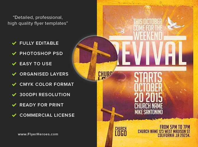 32 Printable Christian Flyer Templates Now for Christian Flyer Templates