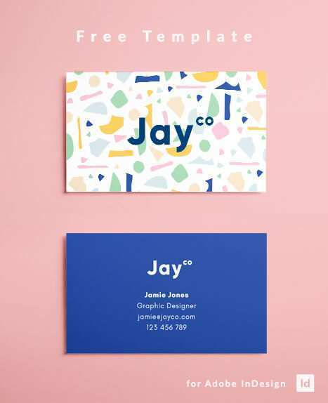 32 Printable Free Business Card Template For Indesign Templates with Free Business Card Template For Indesign