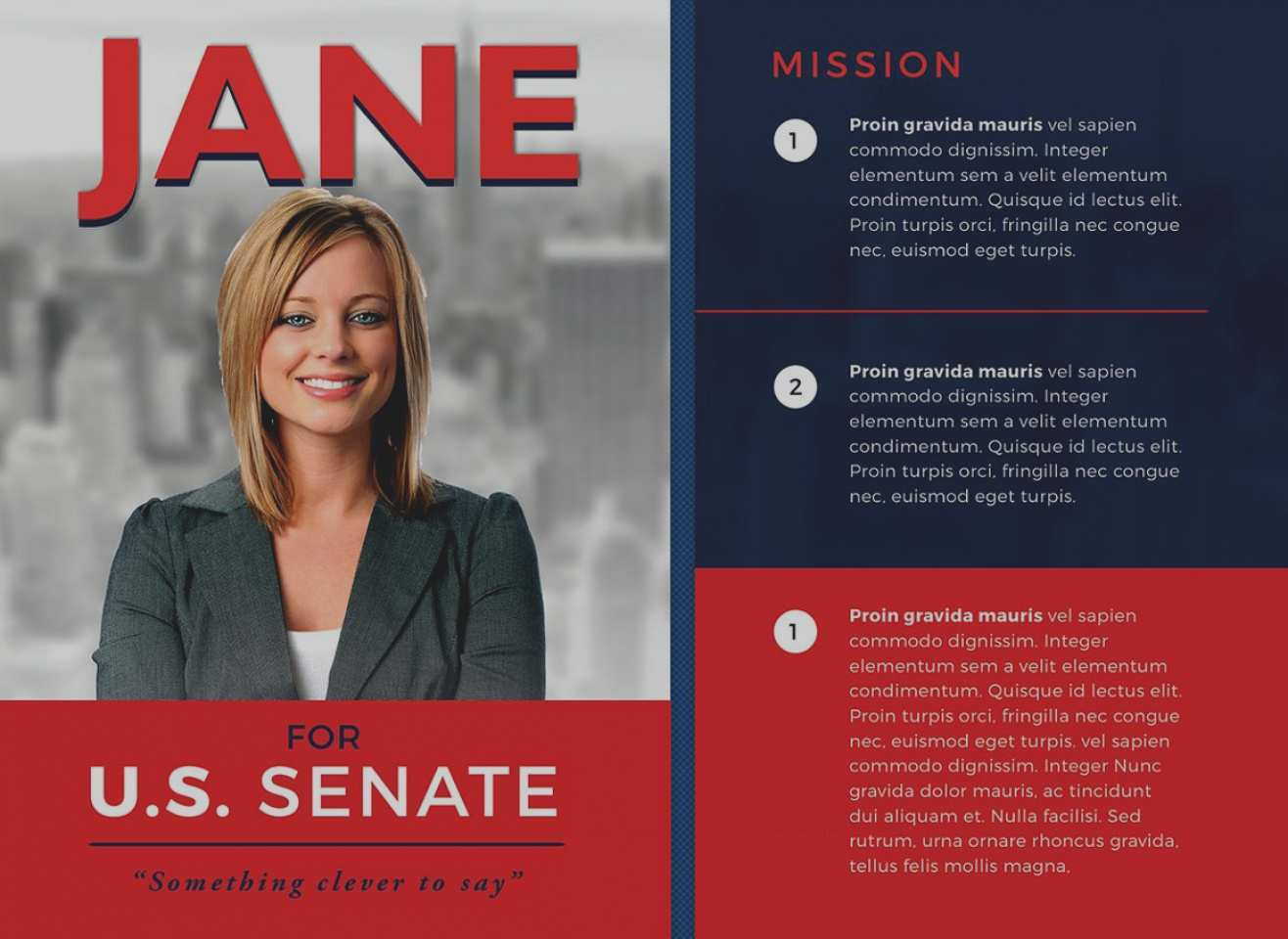 32 Printable Political Flyer Template Word For Free for Political Flyer Template Word