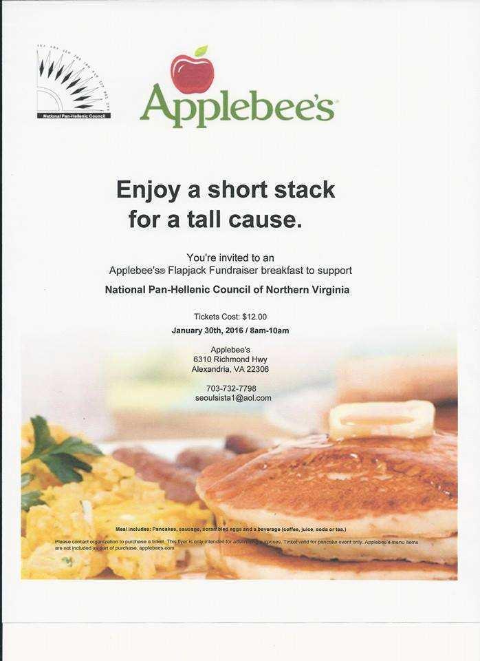 32 Standard Applebee Flapjack Fundraiser Flyer Template in Word for Applebee Flapjack Fundraiser Flyer Template