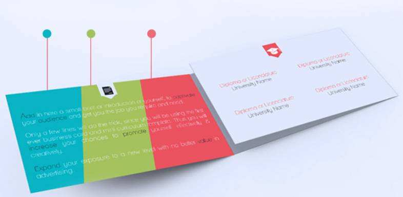 32 The Best 2 Fold Business Card Template for Ms Word by 2 Fold Business Card Template