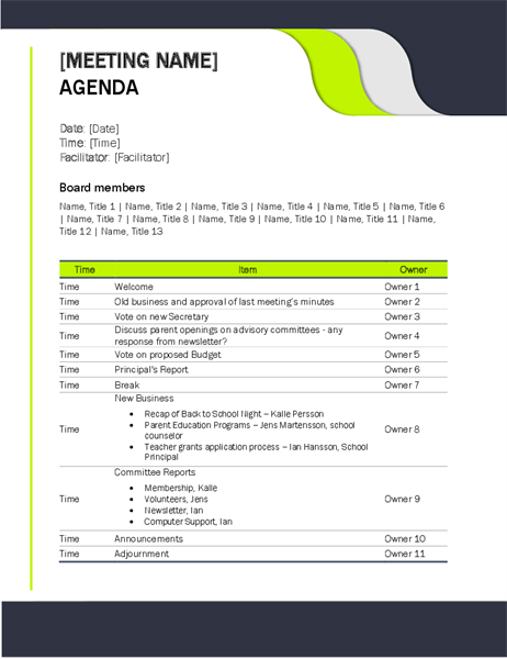 32 The Best 5 Day Conference Agenda Template With Stunning Design for 5 Day Conference Agenda Template