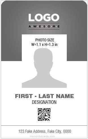 32 The Best Id Card Template For Microsoft Word Templates with Id Card Template For Microsoft Word