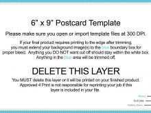 33 Blank 9X6 Postcard Template Usps Photo for 9X6 Postcard Template Usps