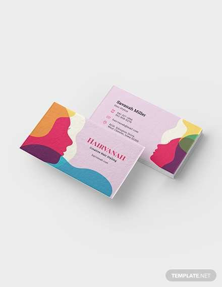 33 Blank Beauty Business Card Template Word With Stunning Design for Beauty Business Card Template Word