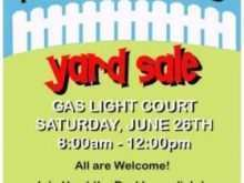 Community Garage Sale Flyer Template