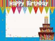 33 Blank Happy Birthday Greeting Card Template Download with Happy Birthday Greeting Card Template