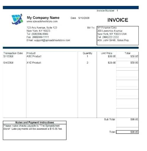 33 Create Invoice Template Excel 2007 With Stunning Design For Invoice Template Excel 2007 Cards Design Templates