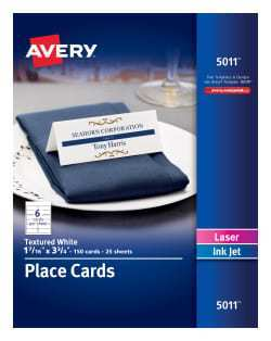 33 Creating Avery Name Tent Card Template in Word by Avery Name Tent Card Template