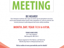 33 Creating Meeting Flyer Template in Photoshop by Meeting Flyer Template