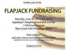 33 Creative Applebee Flapjack Fundraiser Flyer Template in Word for Applebee Flapjack Fundraiser Flyer Template