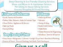 Commercial Cleaning Flyer Templates