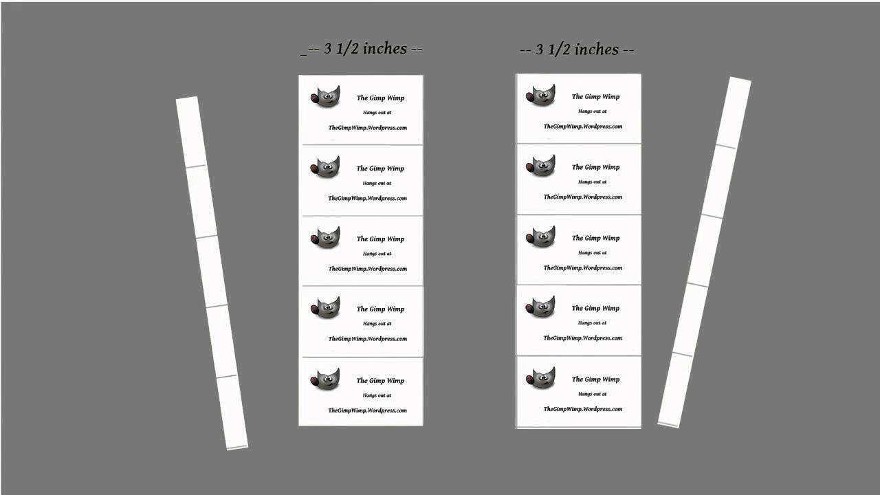 33 Customize Business Card Templates Gimp Download with Business Card Templates Gimp