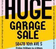 33 Customize Our Free Garage Sale Flyer Template Photo by Garage Sale Flyer Template