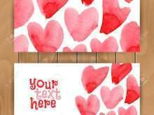 33 Customize Our Free Heart Card Templates Vector For Free with Heart Card Templates Vector