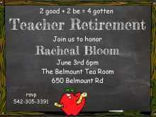 33 Customize Our Free Invitation Card Format For Teachers Download for Invitation Card Format For Teachers
