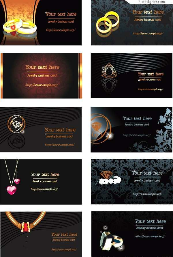 33 Format Business Card Templates Jewelry Free With Stunning Design for Business Card Templates Jewelry Free