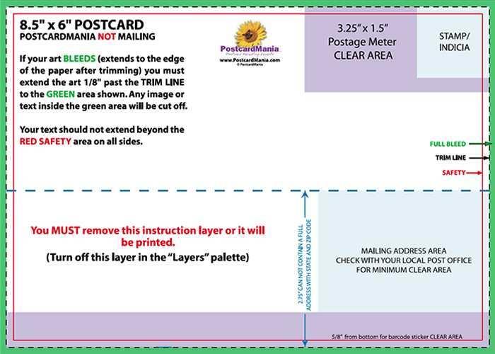 33 Free 6X4 Postcard Template Psd Maker for 6X4 Postcard Template Psd