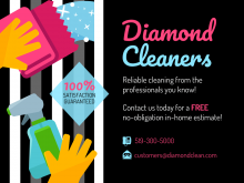 33 Free Cleaning Services Flyer Templates in Photoshop with Cleaning Services Flyer Templates