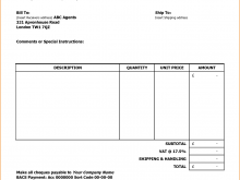 33 Free Printable Construction Billing Invoice Template Photo by Construction Billing Invoice Template
