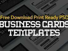 Business Card Template Rar