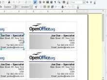 33 Standard Avery Business Card Template For Openoffice Layouts with Avery Business Card Template For Openoffice