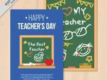 33 The Best Card Template For Teachers Day Formating by Card Template For Teachers Day