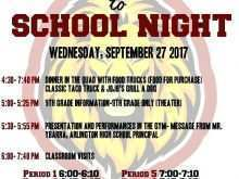 34 Adding Back To School Night Flyer Template Now with Back To School Night Flyer Template