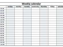 Time Slot Calendar Template from legaldbol.com