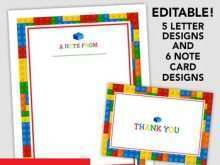 34 Adding Lego Thank You Card Template Maker by Lego Thank You Card Template