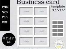 34 Create Business Card Template For A4 Printing Download with Business Card Template For A4 Printing