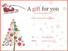 34 Create Christmas Gift Card Template Microsoft Word Download with Christmas Gift Card Template Microsoft Word