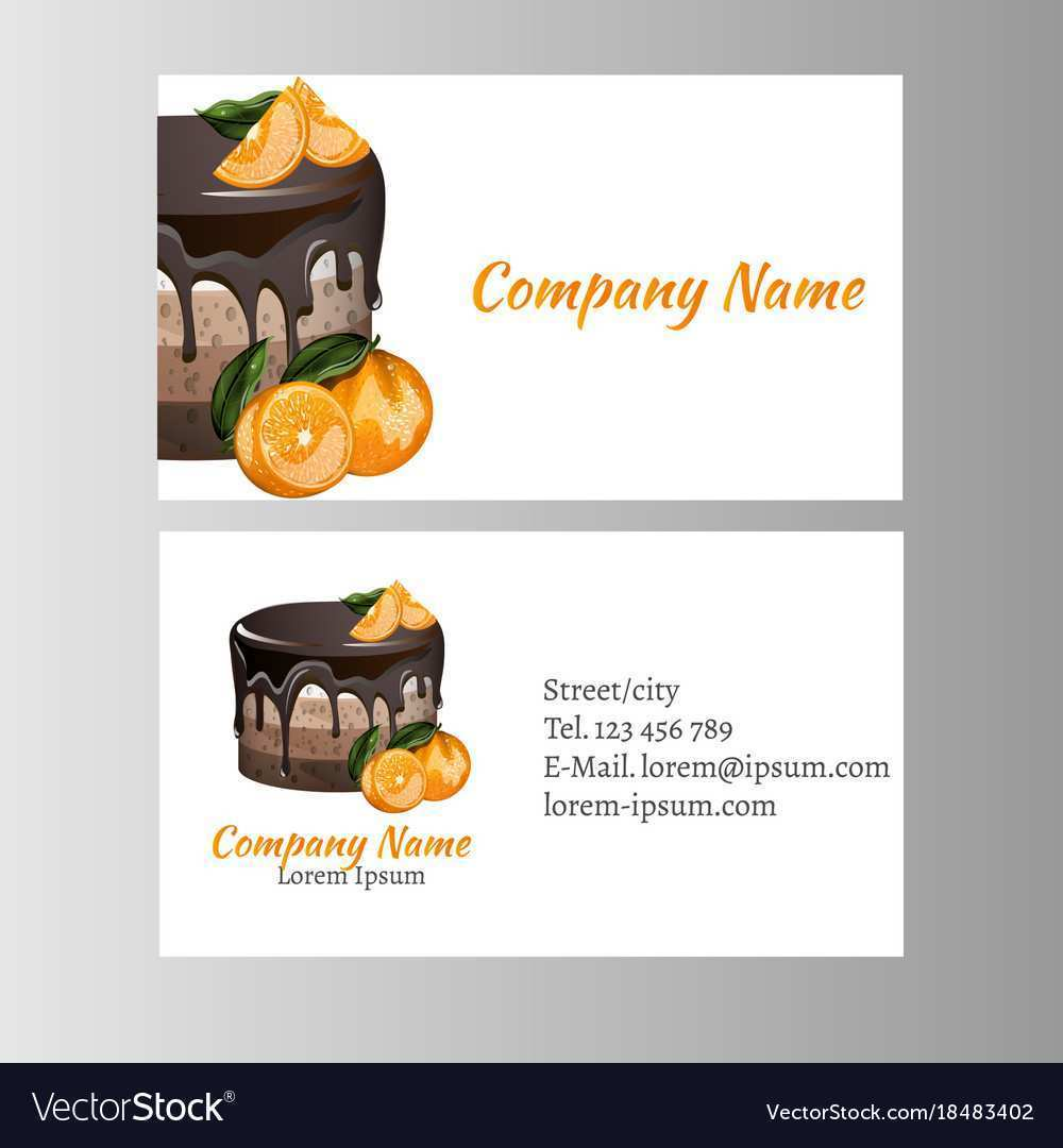 34 Creating Bakery Name Card Template Layouts by Bakery Name Card Template