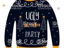 34 Creating Christmas Sweater Card Template PSD File by Christmas Sweater Card Template