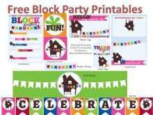 34 Creative Block Party Template Flyer Now with Block Party Template Flyer